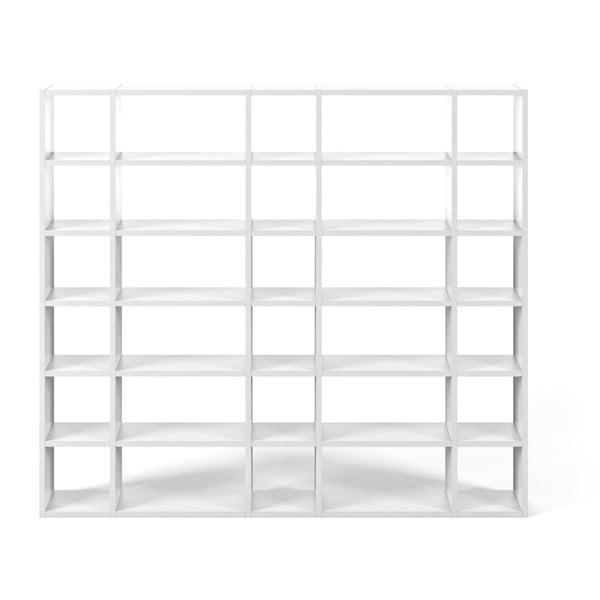 Bibliotecă TemaHome Pombal, lățime 255 cm, alb