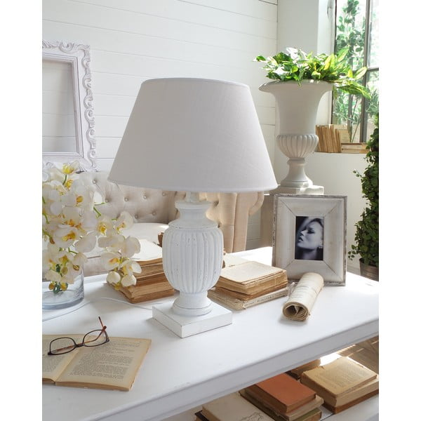 Stolní lampa White Shabby