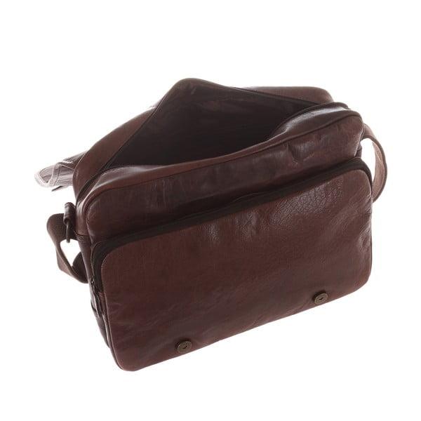 Pánská kožená taška Fitzrovia Messenger