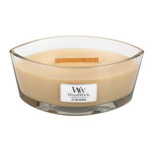 Lumânare parfumată  WoodWick La plajă, 453 g, 50 ore