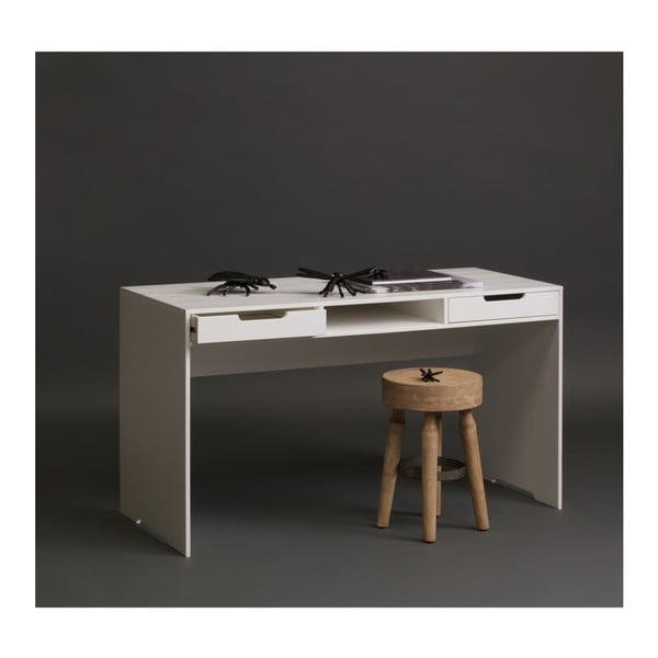 Pracovní stůl z dubového dřeva WOOOD Elon