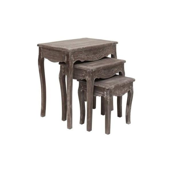 Sada 3 stolků Kamill, 42x66x63 cm