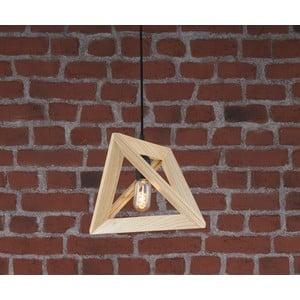 Dřevěné stropní svítidlo Geometry
