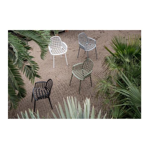 Set 2 scaune Zuiver Albert Kuip Garden, negru