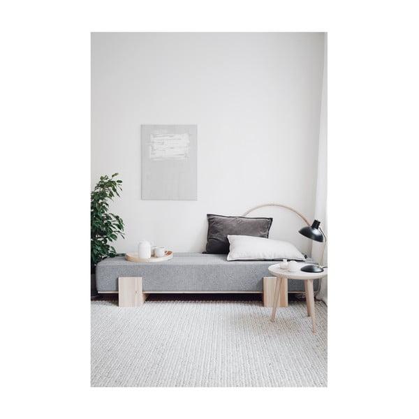 Canapea extensibilă Karup UMU Daybed Natural/Slate Grey