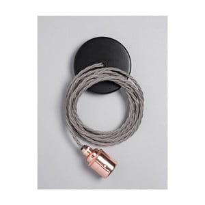 Závěsný kabel Copper Skirt Elephant Grey