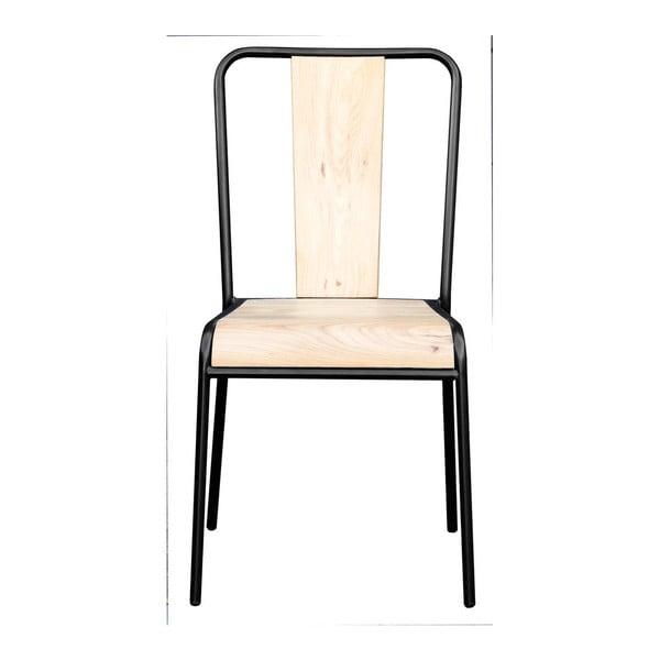 Sada 4 židlí Santiago Black
