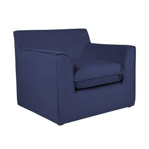 Modré křeslo BSL Concept Mona