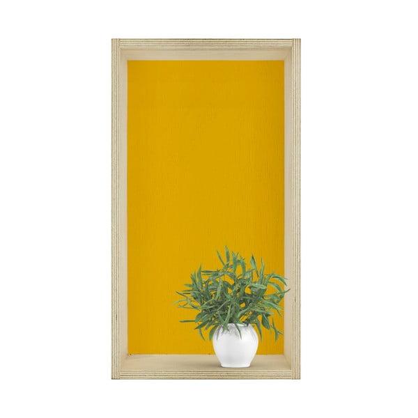 Sada tří poliček HF Living Oblong – žlutá, šedá, bílá
