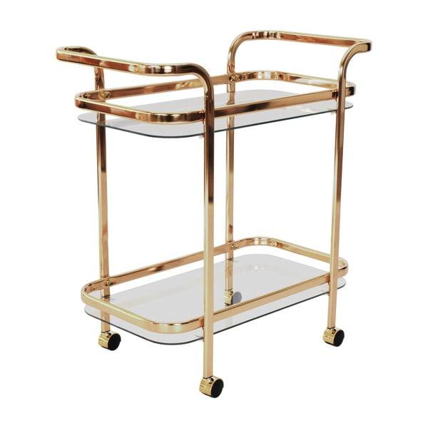 Skleněný servírovací stolek RGE Frans