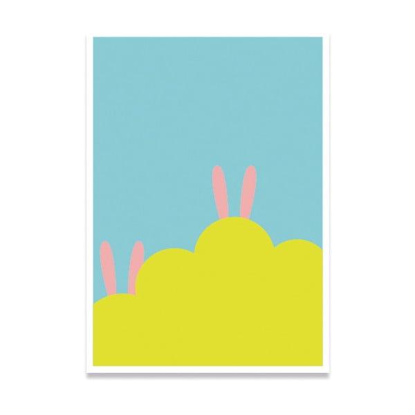 Plakát Hidden Rabbit, A4
