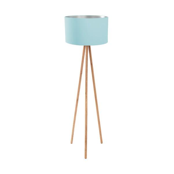 Stojací lampa Light Blue Silver