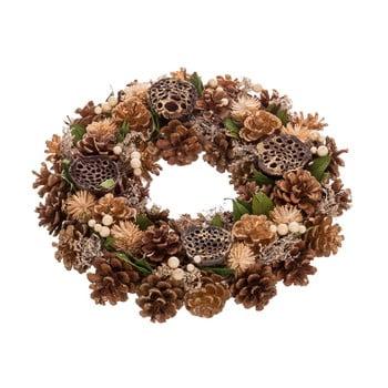 Coroniță de Crăciun pentru masă Unimasa Cones, ø35cm imagine