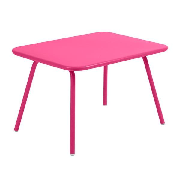 Růžový dětský stůl Fermob Luxembourg