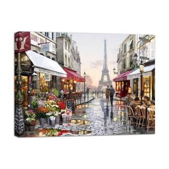 Tablou Styler Canvas Watercolor Paris I, 85 x 113 cm de la Styler