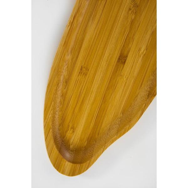 Bambusový servírovací podnos Bambum Santos, 31 cm