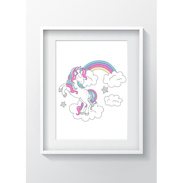 Obraz OYO Kids Unicorn Adventures, 24x29 cm