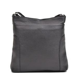 Černá kožená kabelka Anna Luchini Cirina