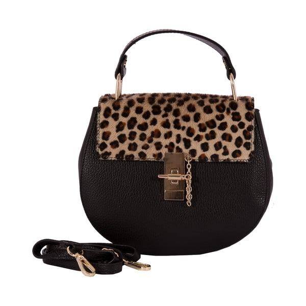 Kožená kabelka Andrea Cardone Leopard