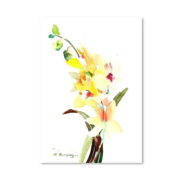 Plakát Orchids Light