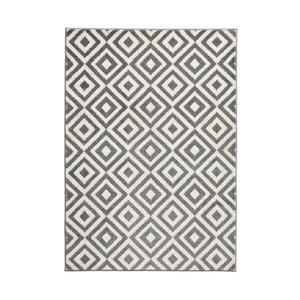 Šedobílý koberec Think Rugs Matrix Grey White, 160x220cm
