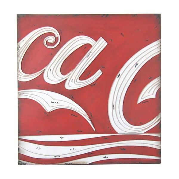 Dekorace na zeď Coca-Cola
