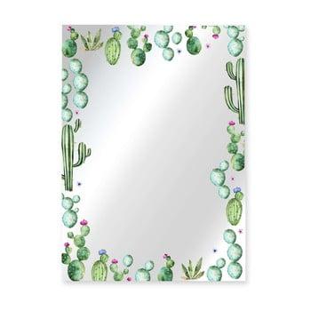 Oglindă Surdic Espejo Decorado Cactus Garden, 50 x 70 cm de la Surdic