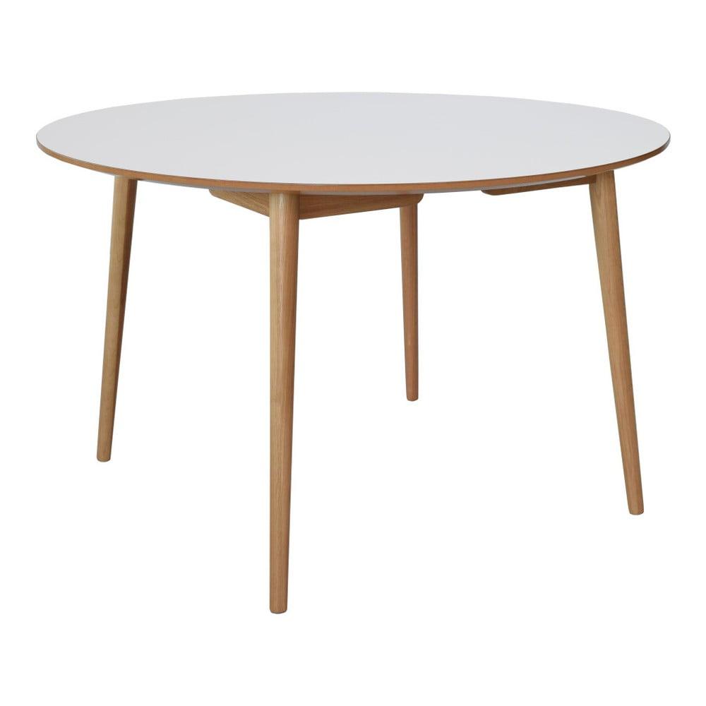 Hnědo-bílý jídelní stůl RGE Perstorp