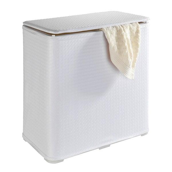 Biely kôš na bielizeň Wenko Wanda, 65 l