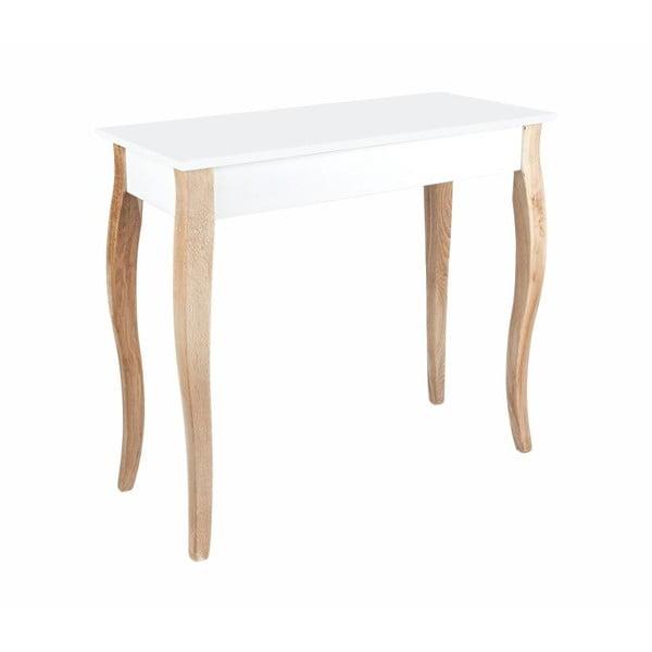 Bílý odkládací konzolový stolek Ragaba Dressing Table,85x74cm