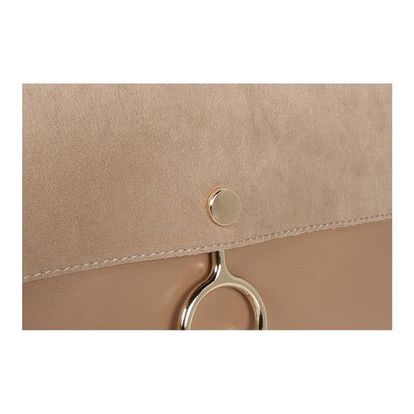 Béžová kabelka z eko kůže Beverly Hills Polo Club Sylvia