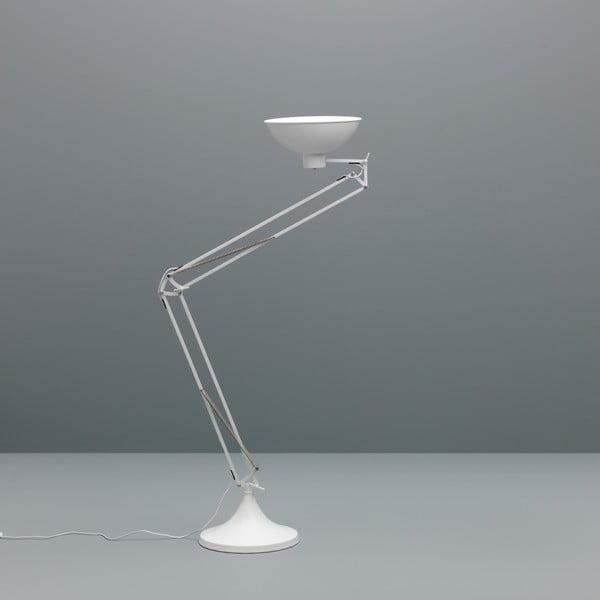 Bílá stojací lampa Design Twist Isparta