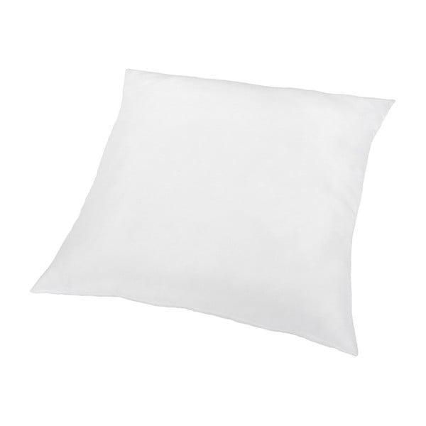 Pernă din microfibră DecoKing Inez, 80 x 80 cm, alb
