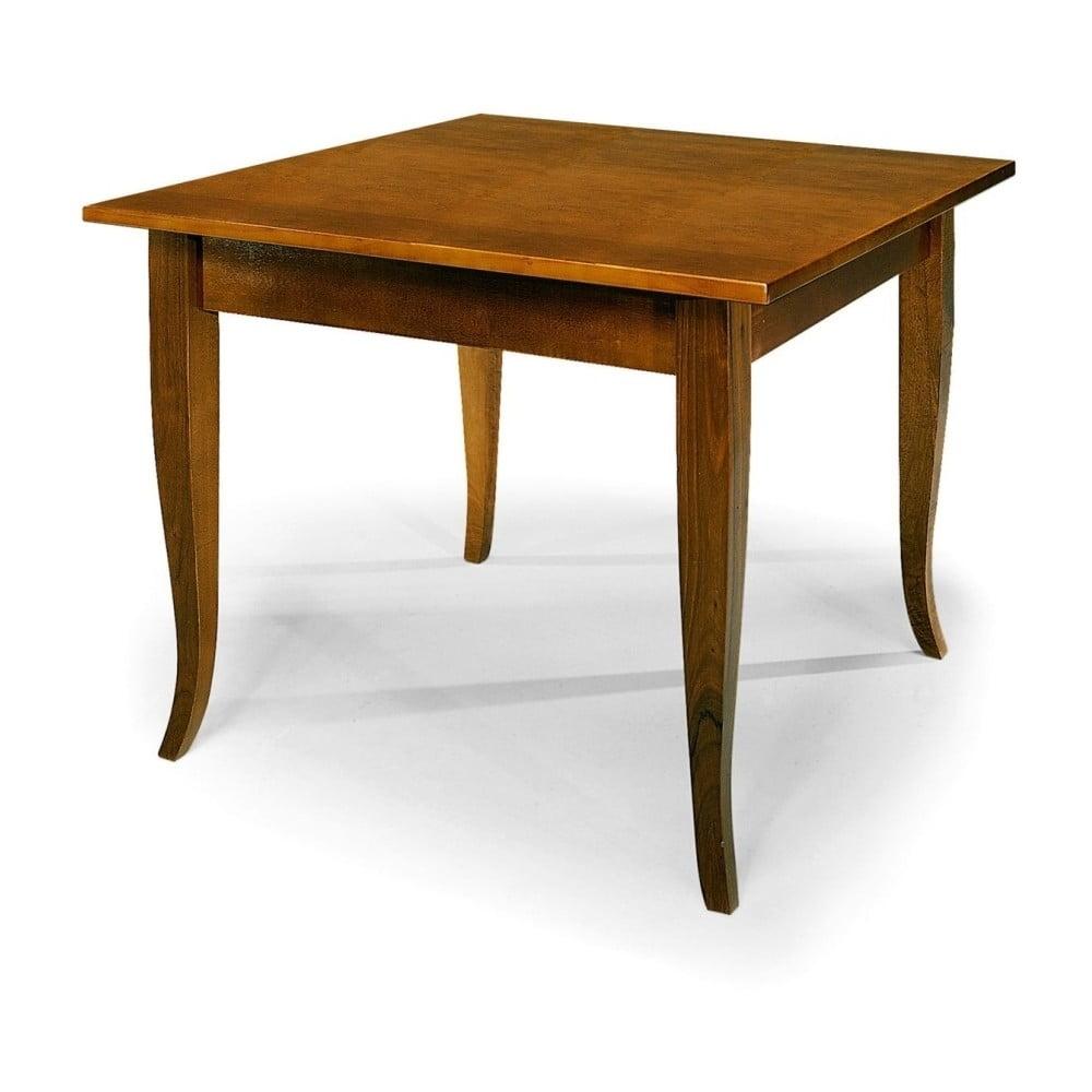 Dřevěný jídelní stůl Castagnetti Classico, 90 x 80 cm