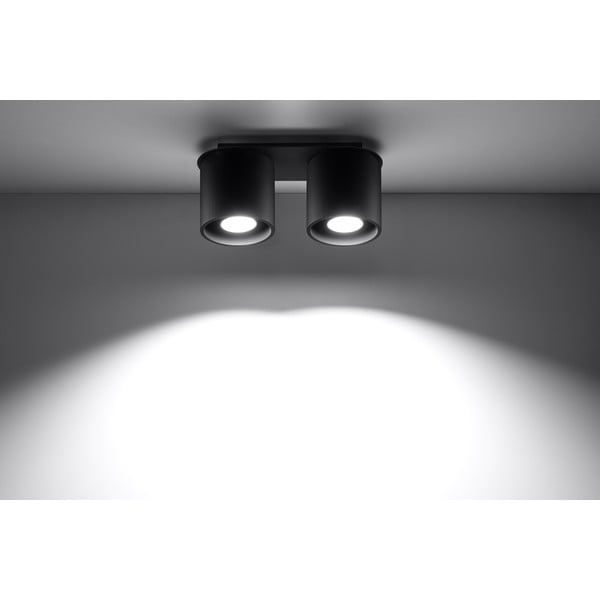 Černé stropní světlo Nice Lamps Roda