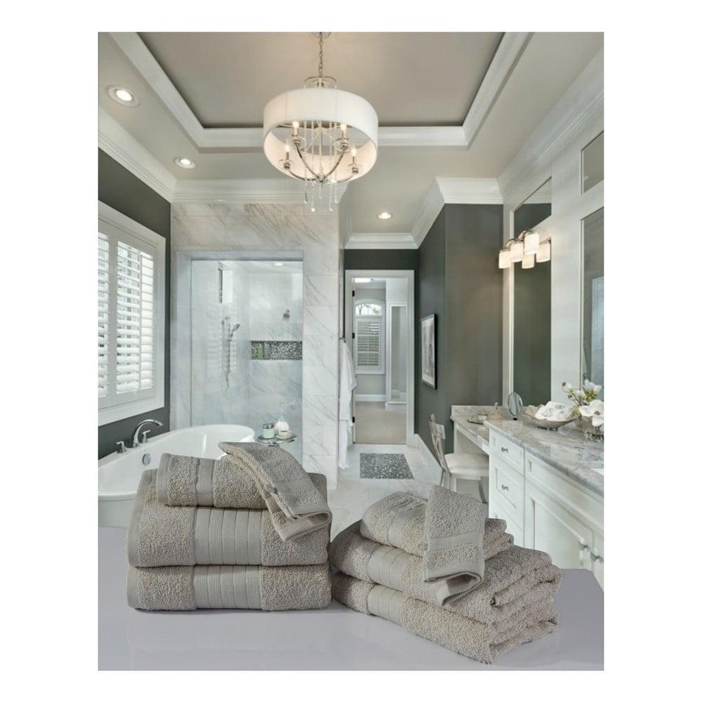 Koupelnový set osušek a rukavic z bavlny HIP