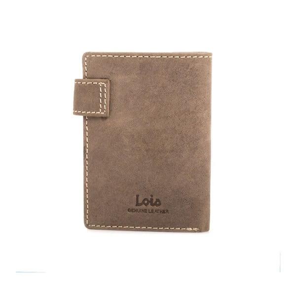 Kožená peněženka Lois Brown, 8,5x10,5 cm