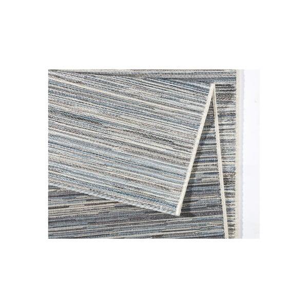 Koberec vhodný i na ven Lotus 160x230 cm, světle šedý melír