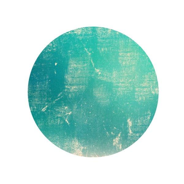 Sada 2 odkládacích stolků Vintage Turquoise, 35 cm + 49 cm