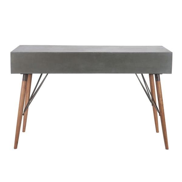 Odkládací konzolový stolek Vintage Grey, 122x40 cm