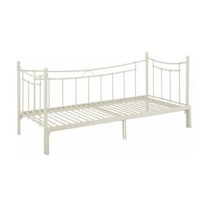 Bílá rozkládací jednolůžková postel Støraa Victor, 90/180x200cm