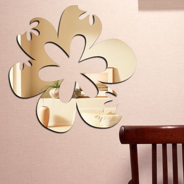 Dekorativní zrcadlo Rozkvetlý květ