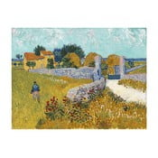 Obraz Vincenta van Gogha - Farmhouse in Provence, 40 x 30 cm