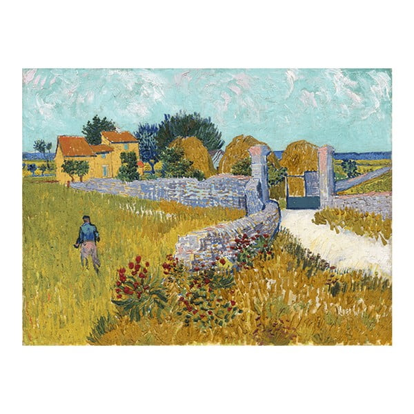 Tablou Vincent van Gogh - Farmhouse in Provence, 60x45 cm