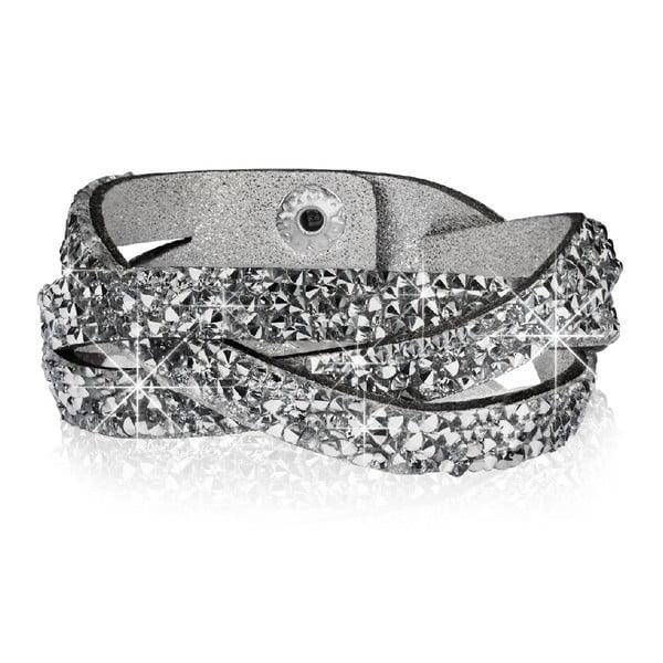 Náramek Silver Dust, 21 cm