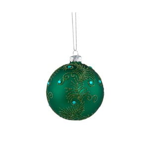 Zelená vánoční závěsná ozdoba Butlers, ⌀ 8 cm