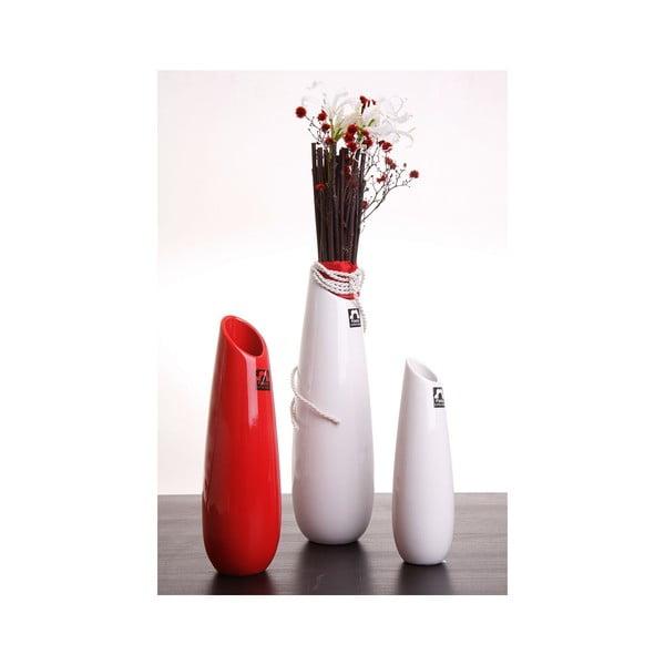 Váza Save 21 cm, bílá