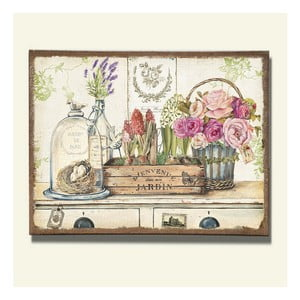 Nástěnná dekorace Jardin, 2 ks