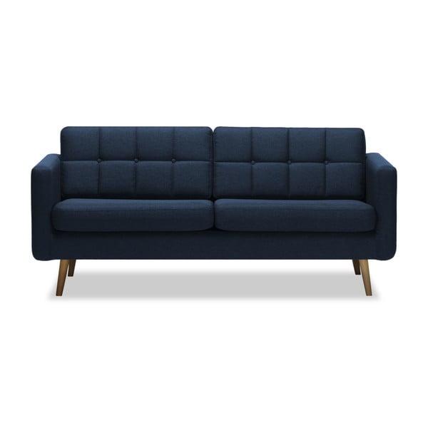 Canapea cu 3 locuri Vivonita Magnus, albastru închis