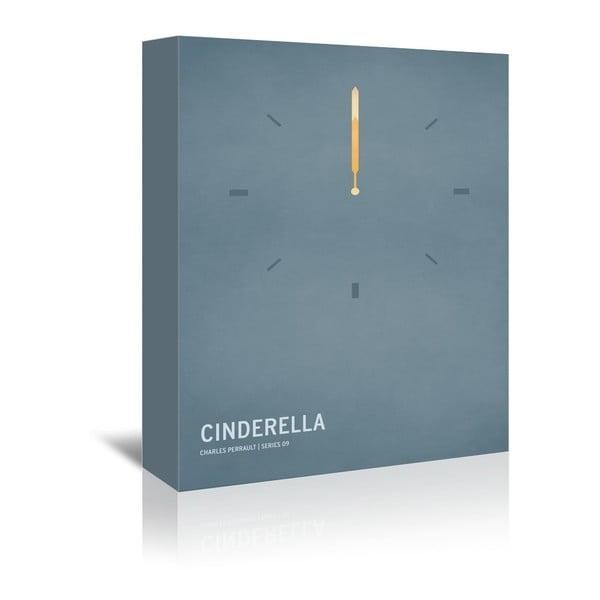 Obraz na plátně Cinderella With Text od Christiana Jacksona